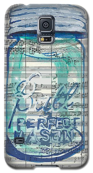 Galaxy S5 Case featuring the painting Ball Jar Classical  #132 by Ecinja Art Works