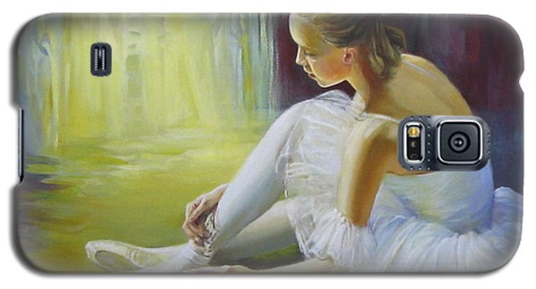 Ballerina Galaxy S5 Case by Elena Oleniuc