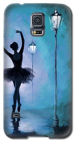 Ballet In The Night  Galaxy S5 Case by Corporate Art Task Force
