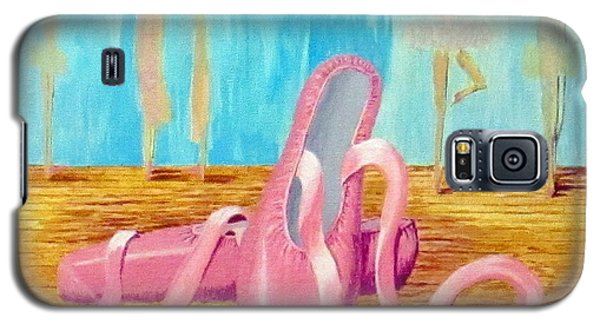 Ballet Slippers Galaxy S5 Case by Hilda and Jose Garrancho