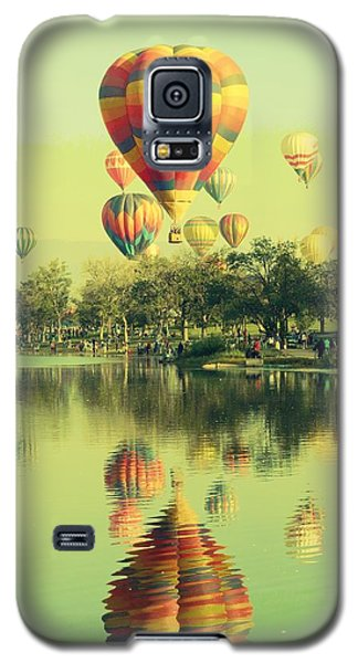 Balloon Classic Galaxy S5 Case by Michelle Frizzell-Thompson