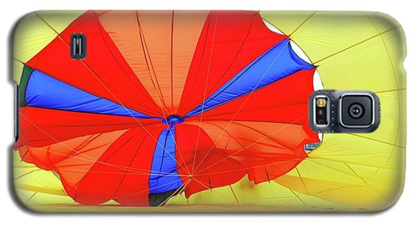 Galaxy S5 Case featuring the photograph Balloon Fantasy   1 by Allen Beatty