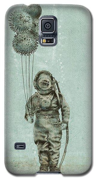 Beach Galaxy S5 Case - Balloon Fish by Eric Fan