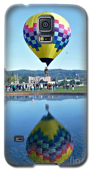 Galaxy S5 Case featuring the photograph Balloon Ride  by Mindy Bench