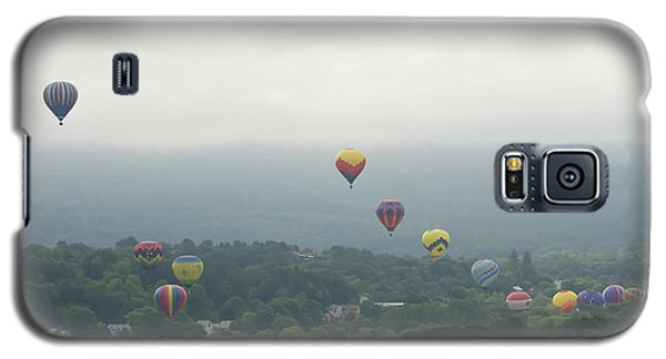 Balloon Rise Over Quechee Vermont Galaxy S5 Case