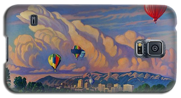 Ballooning On The Rio Grande Galaxy S5 Case by Art James West