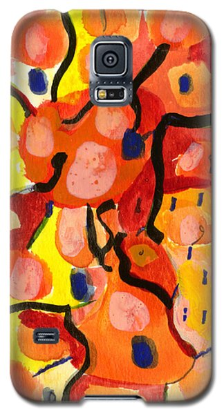 Galaxy S5 Case featuring the painting Balloons At Mid-day by Stephen Lucas