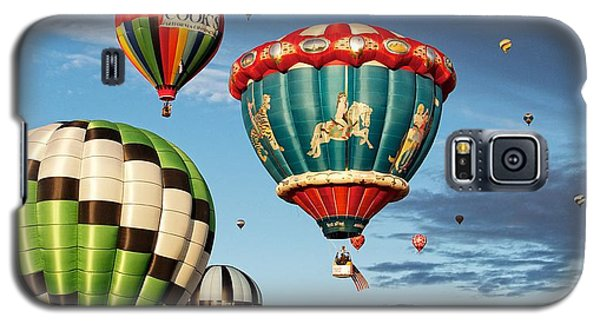 Galaxy S5 Case featuring the photograph Balloons Away by Dave Files