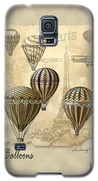 Balloons With Sepia Galaxy S5 Case