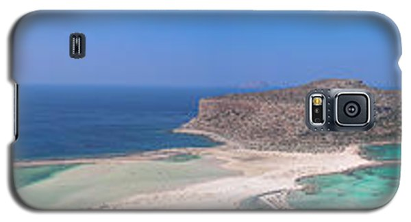 Galaxy S5 Case featuring the photograph Ballos Bay by Sergey Simanovsky