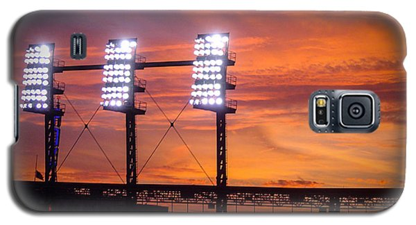 Ballpark At Sunset Galaxy S5 Case