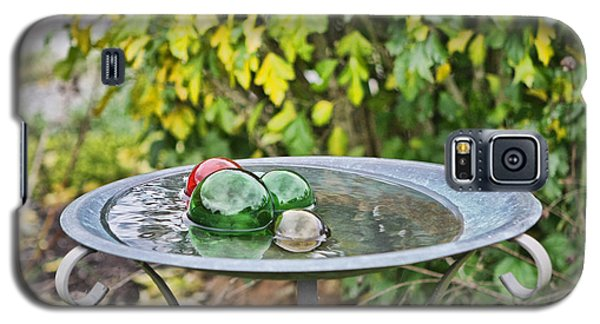 Galaxy S5 Case featuring the photograph Balls In Water by Denise Romano