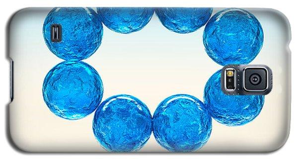 Galaxy S5 Case featuring the digital art Balls Of Glass... by Tim Fillingim