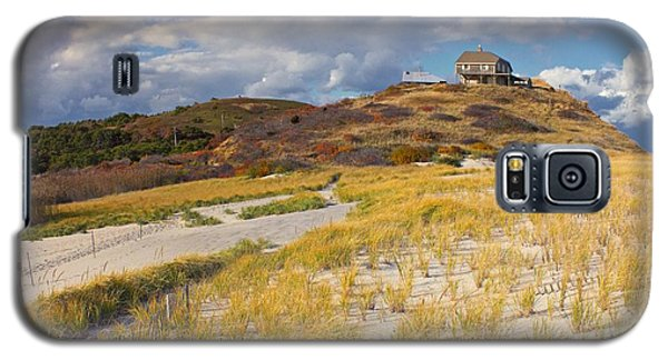 Galaxy S5 Case featuring the photograph Ballston Beach Dunes by Constantine Gregory