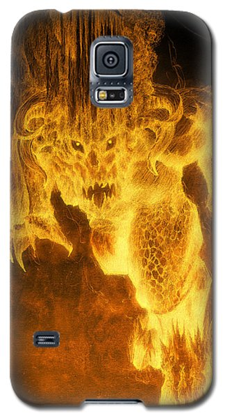 Balrog Of Morgoth Galaxy S5 Case by Curtiss Shaffer