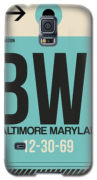 Baltimore Airport Poster 1 Galaxy S5 Case