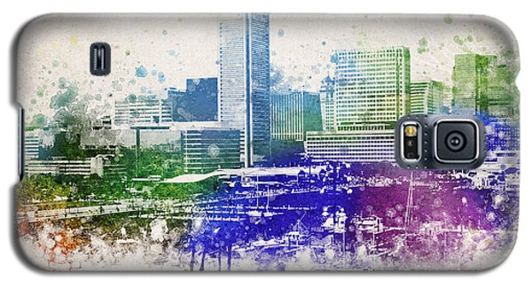 Baltimore City Skyline Galaxy S5 Case