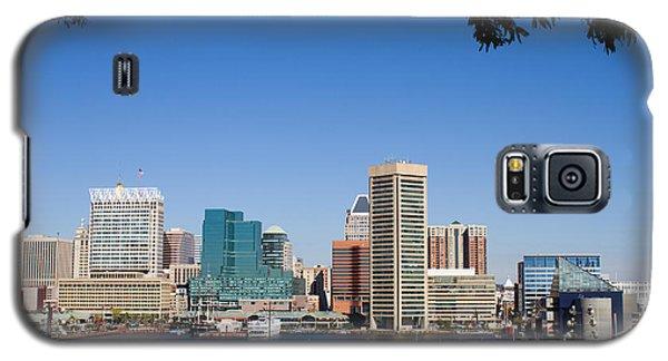 Baltimore Harbor Skyline Galaxy S5 Case