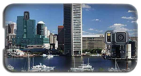 Baltimore Inner Harbor Panorama Galaxy S5 Case