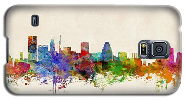 Baltimore Maryland Skyline Galaxy S5 Case