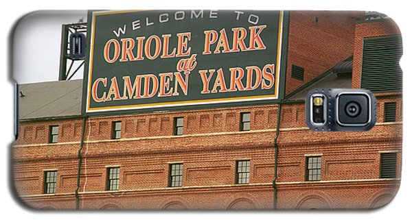 Baltimore Orioles Park At Camden Yards Galaxy S5 Case by Frank Romeo