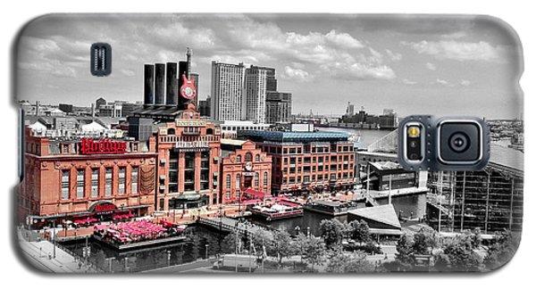 Baltimore Power Plant Color Black White Galaxy S5 Case