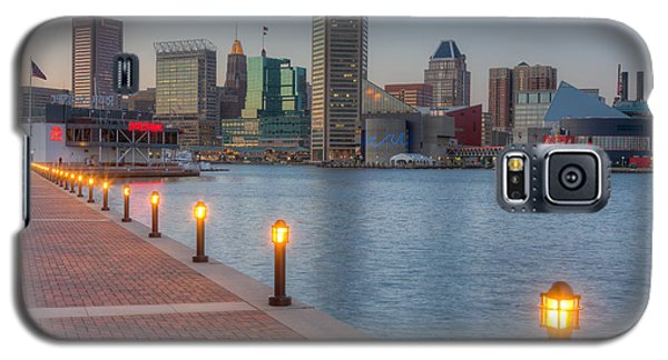 Baltimore Skyline At Twilight I Galaxy S5 Case