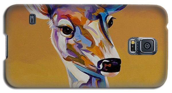 Galaxy S5 Case featuring the painting Bambi by Bob Coonts