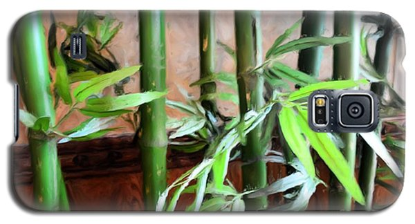 Galaxy S5 Case featuring the photograph Plant -  Bamboo  -  Luther Fine Art by Luther Fine Art