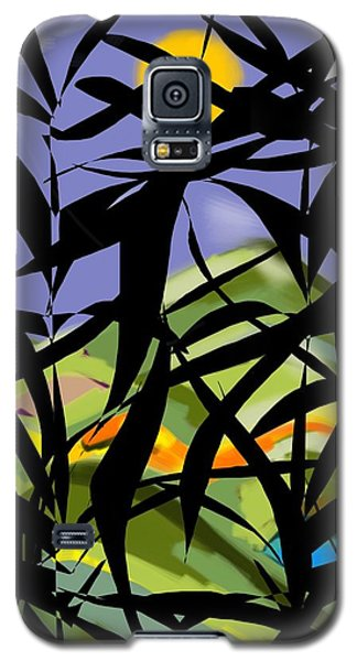 Bamboo Galaxy S5 Case by Christine Fournier