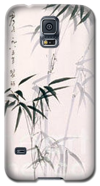 Galaxy S5 Case featuring the painting Bamboo by Fereshteh Stoecklein