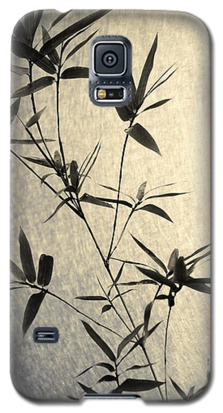 Bamboo Leaves Galaxy S5 Case by Jenny Rainbow