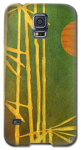 Bamboo Moon Galaxy S5 Case by Desiree Paquette