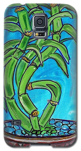 Bamboo Twist Galaxy S5 Case by Ecinja Art Works