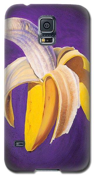 Banana Half Peeled Galaxy S5 Case by Karl Melton