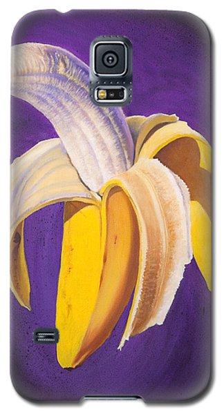 Banana Half Peeled Galaxy S5 Case