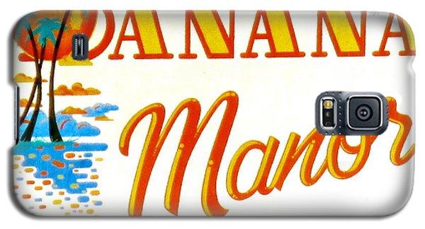 Banana Manor Galaxy S5 Case