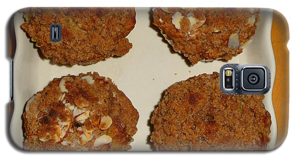 Banana Oat Crunch Muffins Galaxy S5 Case