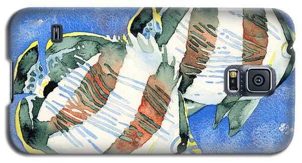 Banded Butterflyfish Galaxy S5 Case