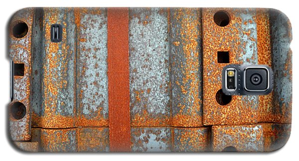 Galaxy S5 Case featuring the photograph Banded Steel by Robert Riordan