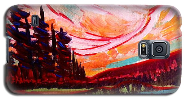 Banff Rocky Mountains Galaxy S5 Case