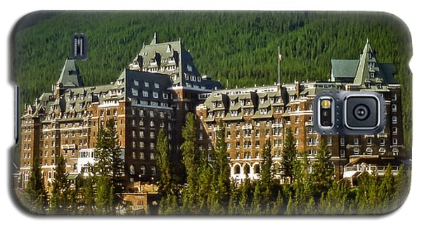 Banff Springs Hotel Galaxy S5 Case