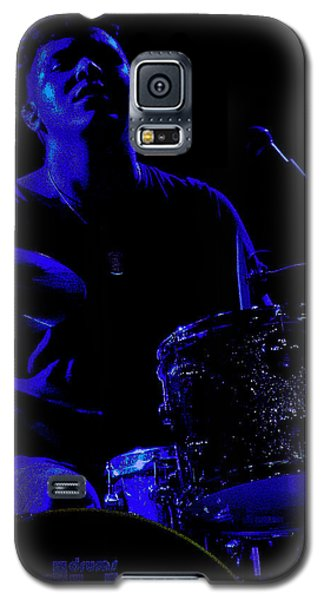 Galaxy S5 Case featuring the photograph Bang The Drum by Michael Nowotny
