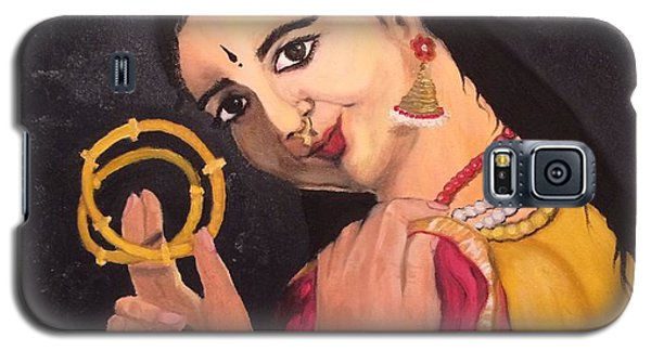 Galaxy S5 Case featuring the painting Bangles by Brindha Naveen