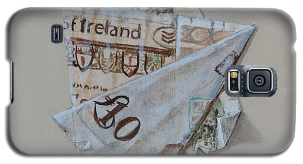 Bank Of Ireland Ten Pound Banknote Galaxy S5 Case