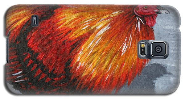 Bantam Rooster 2 Galaxy S5 Case by Penny Birch-Williams