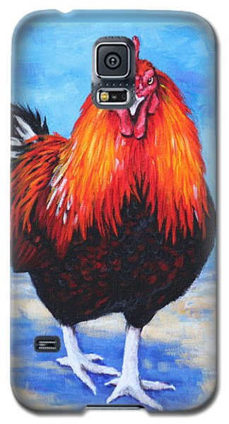 Bantam Rooster Galaxy S5 Case by Penny Birch-Williams