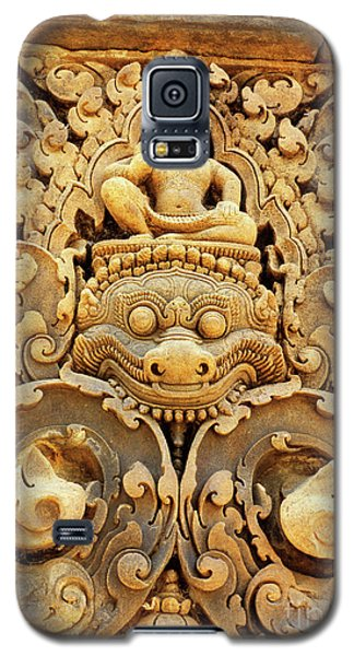 Banteay Srei Carving 01 Galaxy S5 Case