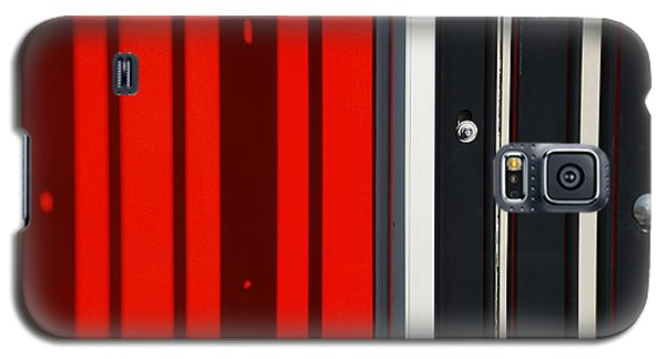 Bar Code Galaxy S5 Case by Wendy Wilton