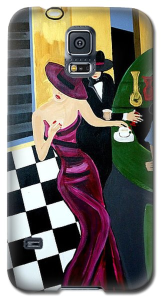 Bar Scene  Lets Have A Drink Galaxy S5 Case